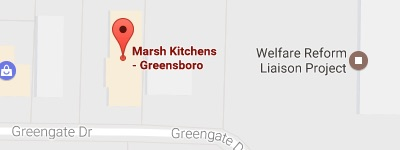 marsh kitchens greensboro map