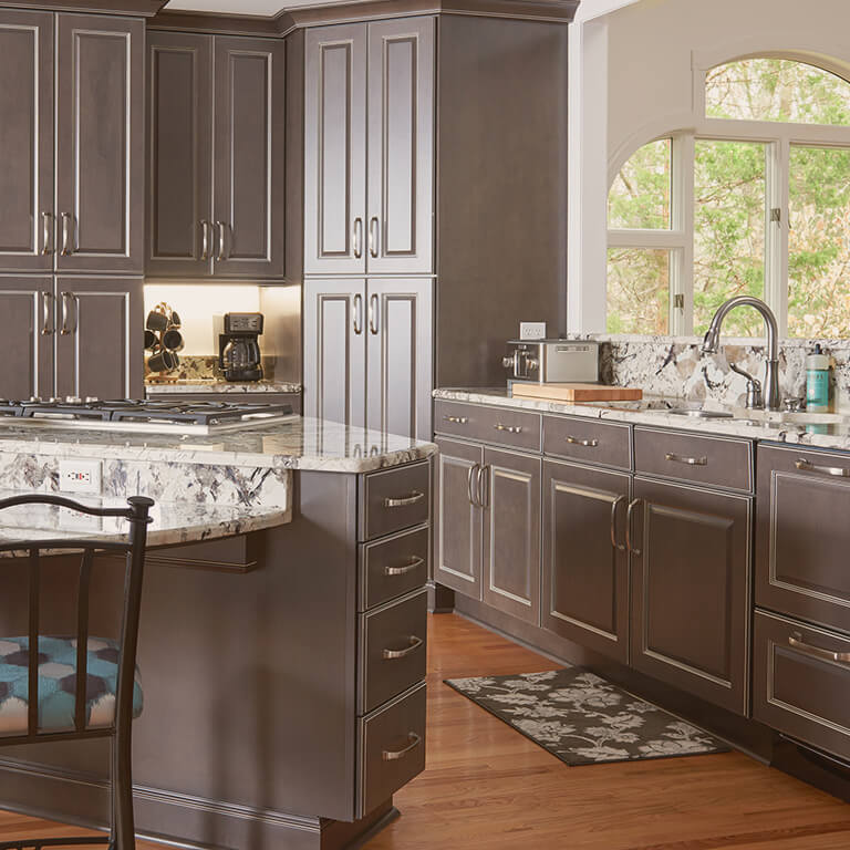 As Semi Custom Brands, Marsh Cabinets And StarMark Cabinetry Leave Room For  You To Further Personalize The Heart Of Your Home.