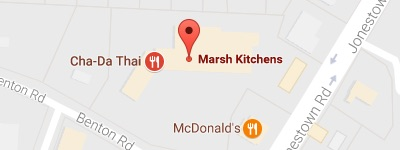 marsh kitchen & bath winston-salem map