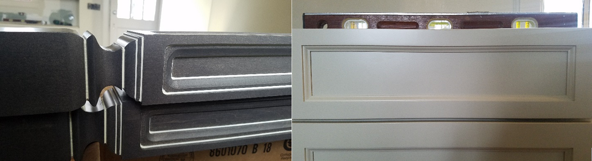 closeup of furniture legs and cabinet drawer