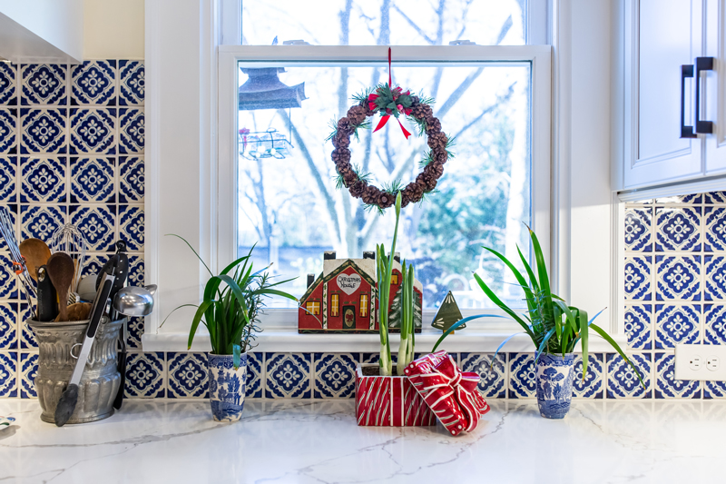 decorate kitchen countertops for the holiday